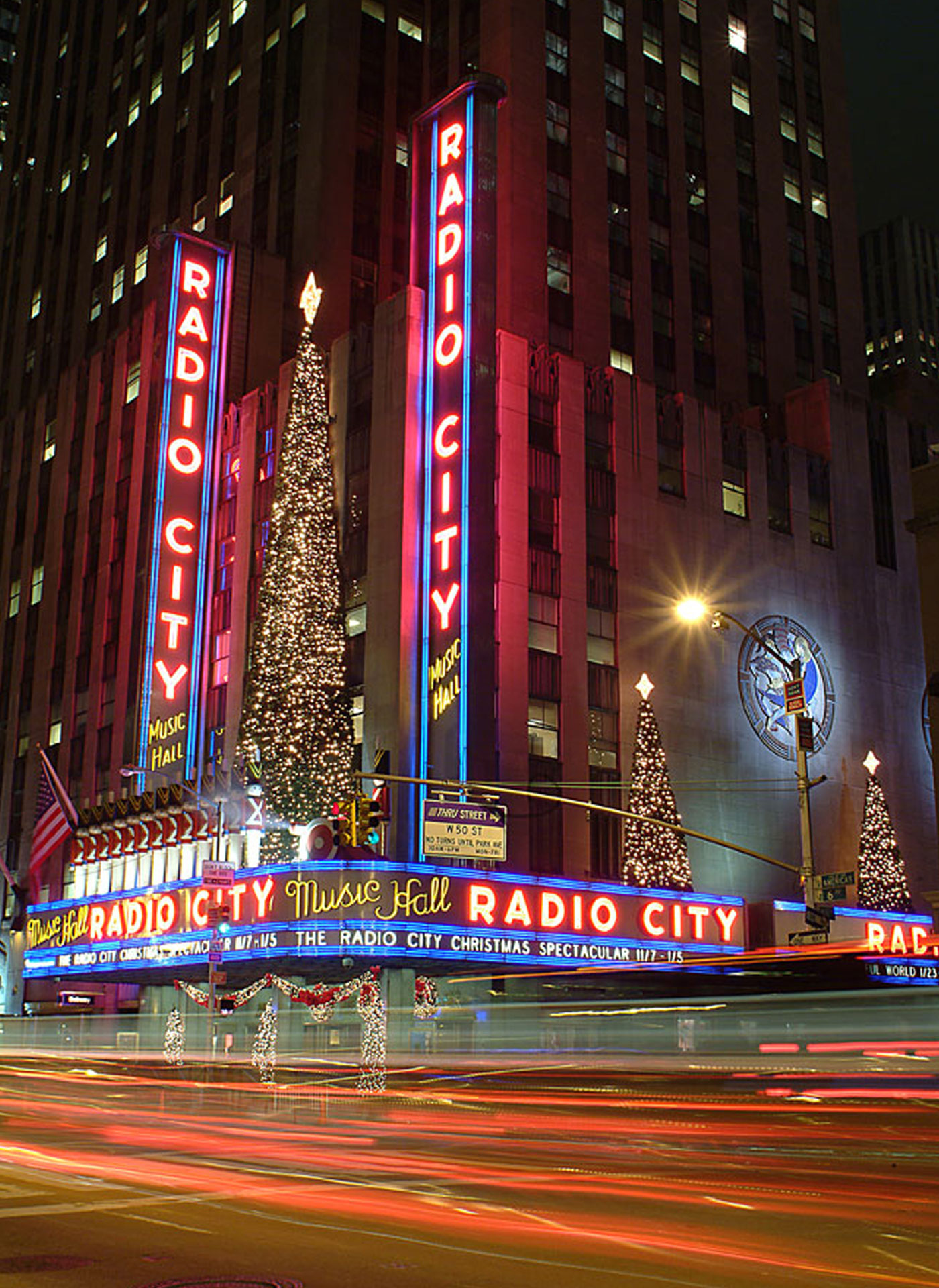 Christmas Decoration, Holiday Lighting, Radio Music Hall | American Christmas by MK Illumination