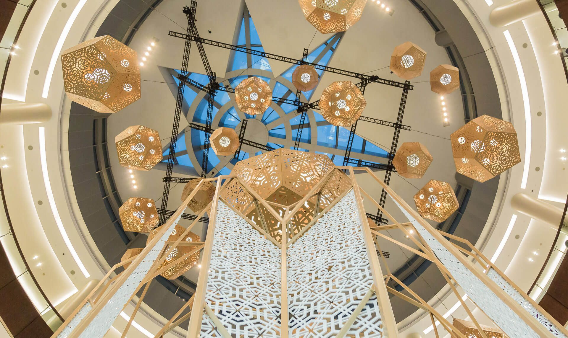 82f4e2ee4fb01 ... of modernized versions of the traditional lanterns in different shapes  and sizes increased the mall s profile on social media presence