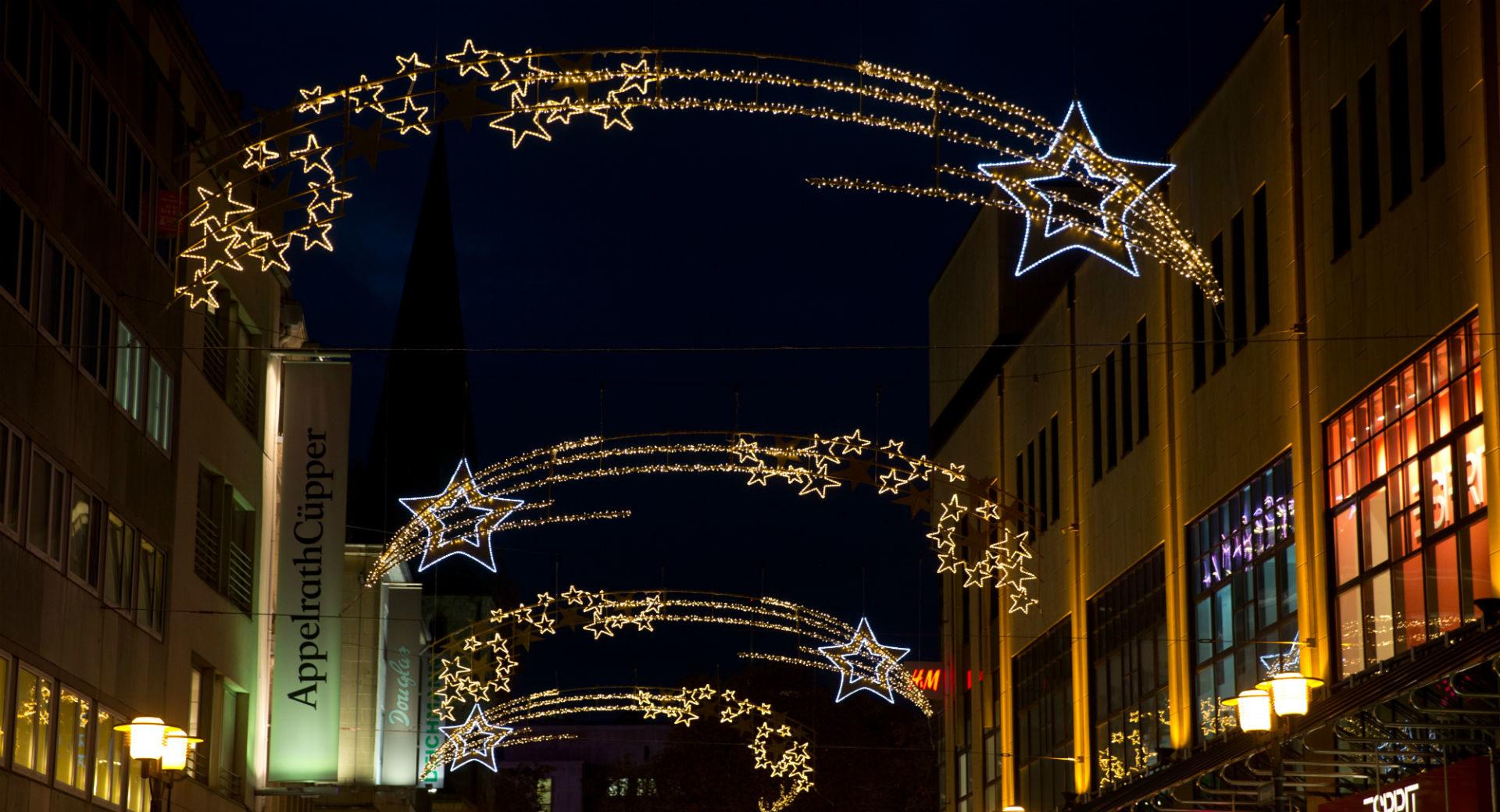 Led Weihnachtsbeleuchtung Komet.Essener Lichtwochen Mk Illumination
