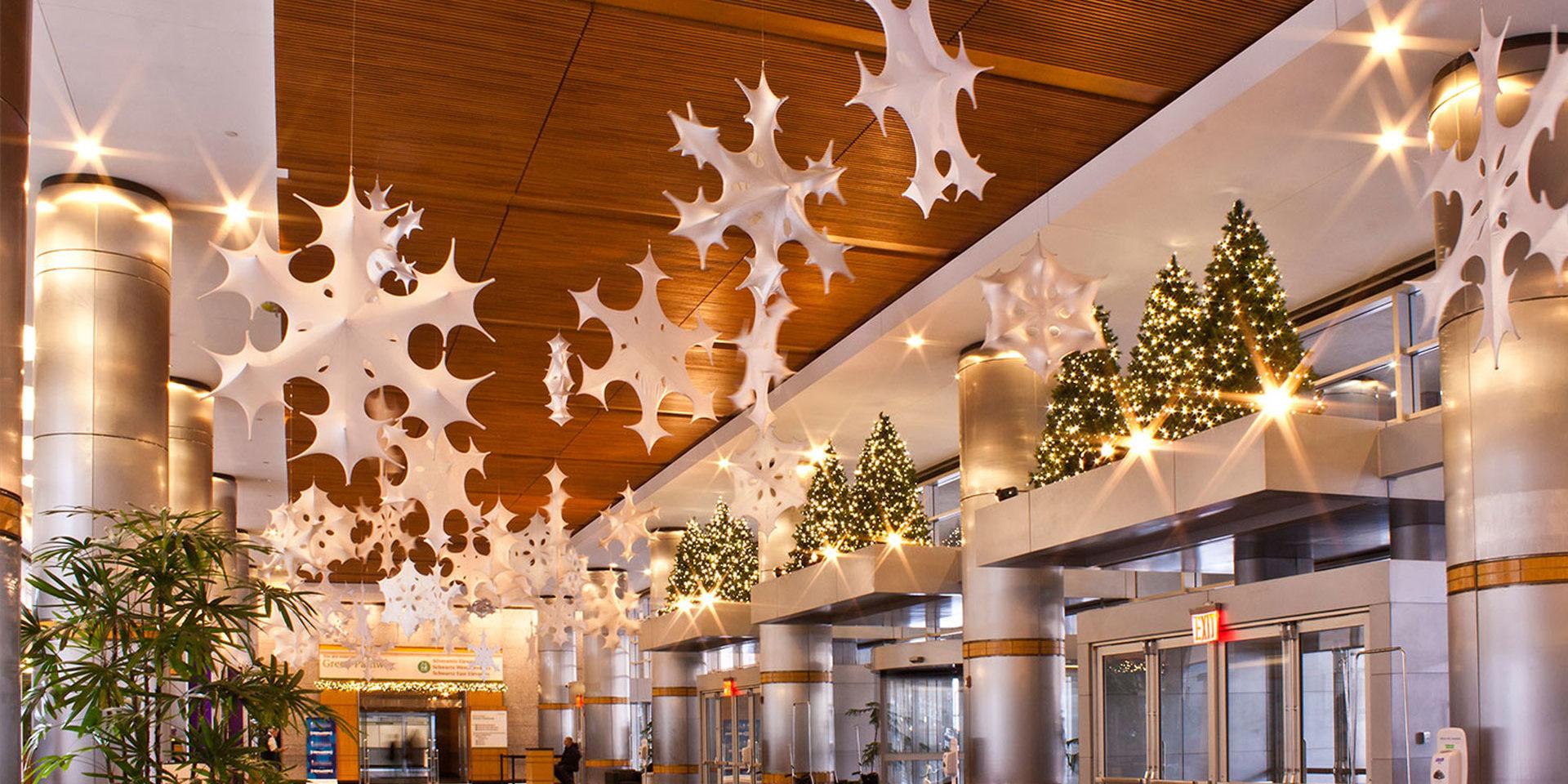 Festive Decorative Lighting for Corporate Buildings | MK